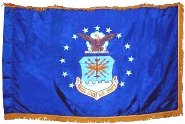 Air Force Organizational Flag 3ft X 5ft size  guidon