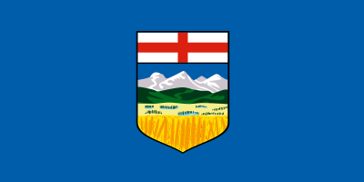 Alberta Flag 4ft x 6ft  guidon