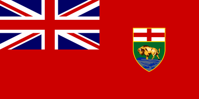 Manitoba Flag 3ft x 5ft  guidon