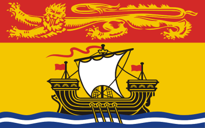 New Brunswick Flag 3ft x 5ft  guidon