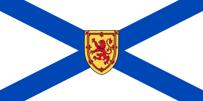 Nova Scotia Flag 3ft x 5ft  guidon