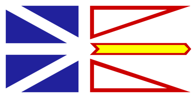 Newfoundland and Labrador Flag 4ft x 6ft  guidon