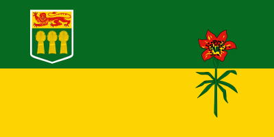 Saskatchewan Flag 4ft x 6ft  guidon