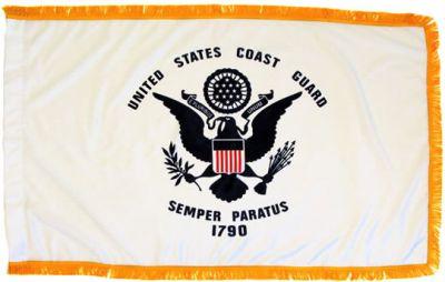 Coast Guard Flag 3ft X 5ft size  guidon
