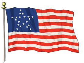 Great Star Flag, 3ft X 5ft US Flag  guidon