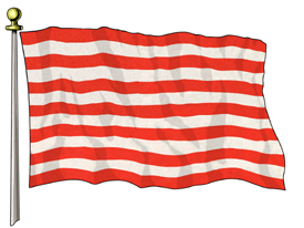 Sons Of Liberty Flag, 3ft X 5ft US Flag  guidon