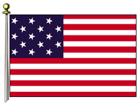 Star Spangled Banner 3ft X 5ft US Flag  guidon