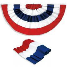 Pleated Fan 3ft X 6ft Nylon  guidon