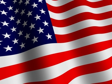 5' x 8' Polyester USA Flag  guidon