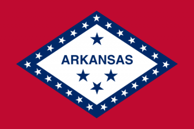 Arkansas State Flag 3'x5'  guidon