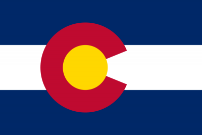 Colorado State Flag 4'x6'  guidon